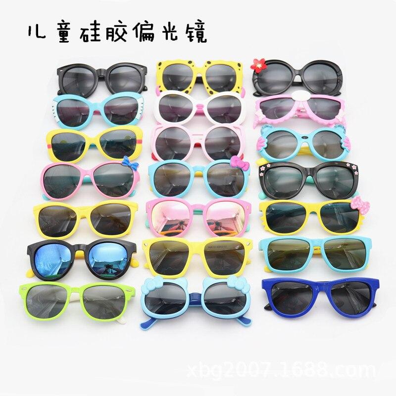 Wholesale Children Sunglasses Polarized Boys Girls Sun Glasses for Child Kids 5 Pcs/lot
