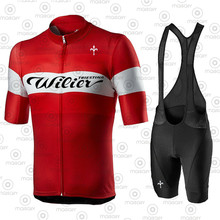 2021 Wilier Cycling Jerseys Sets Mountain Bicycle Clothing MTB Maillot Ciclismo Ropa Ciclismo Racing Bike Clothes Sportswear