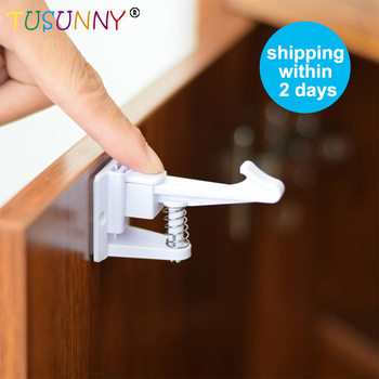 TUSUNNY 6 Pcs Magnetic baby child kids Drawer Lock Baby Lock Safety Lock System Child Protection drawer cabinet cupboard Lock