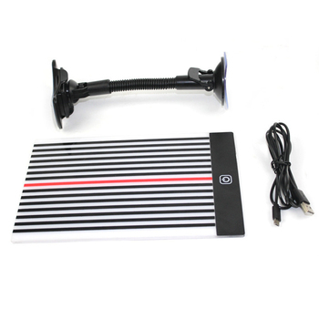Car Dent Repair Tool Wire Board Reflector Dent Repair Tools Paintless Dent Removal Checking Line Board Reflector Set цена 2017