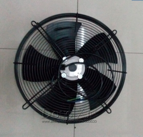 YWF 4D-550 680W Suction Cooling Condenser Fan Glimmer Outer Rotor Axial Fan Motor