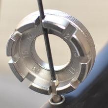 Wrench-Tool Spanner Repair-Tool-Accessories Key-Bike Spoke Cycling 8-Way Wheel-Rim