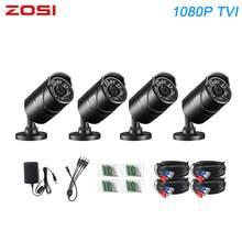 ZOSI – caméra de sécurité IR 1080P TVI Bullet, CCTV, vision nocturne, étanche IP67, caméscope de rue intérieur et extérieur pour Kit DVR