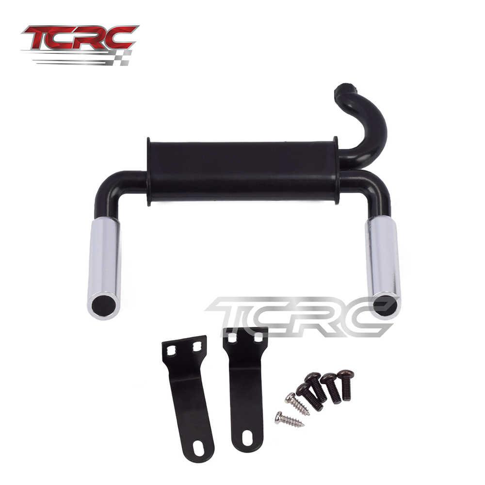 TCRC Simulation Auspuffrohr Gas Vent für 1/10 RC Traxxas TRX4 Bronco Ford Crawler Auto Dekoration