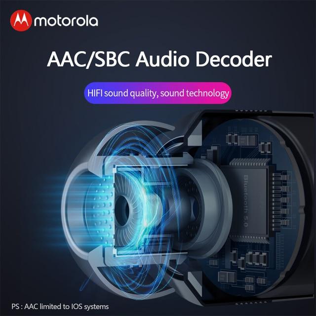 Motorola VerveBuds 400 Wireless Bluetooth Earphone Mini Sports Headphones Headset IPX6 Waterproof for motorola VerveBuds400 2