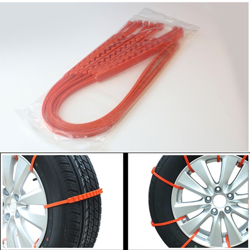 Chunmu 1 Pc Newest 92cm Car Universal Anti Skid Snow Chains Nylon For Car Truck Snow Mud Wheel Tyre Tire Cable Ties Dropshippinp