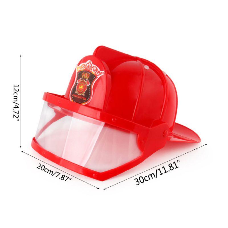 criancas bombeiro capacete bombeiro chapeu fantasia vestido 04