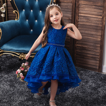 Girls Dress Elegant New Year Princess Children Party Dress Wedding Gown Kids Dresses for Girls Birthday Party Dress Vestido Wear 2017new china traditional red color girls children princess dress embroidery lace wedding birthday party ceremony dress for kids