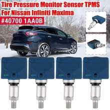 Sensor tpms do monitor da pressão dos pneus de 4 pces 1pc para nissan infiniti maxima #40700 1aa0b 40700 ja01b 40700 ja01c 40700 ja00c