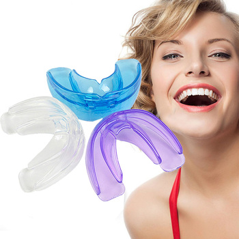 1 Soft + 1 Hard Orthodontic Braces Silicone Dental Appliance Trainer Pro Alignment Braces Mouthpiece Teeth Straightener Retainer