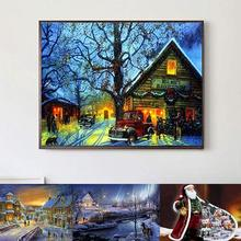 new 40 x 30cm Resin Christmas Diamond Painting nouveaute 2019 Full Cross Stitch Embroidery DIY Craft Home Decor