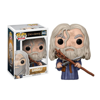 Funko Pop The Lord Of The Rings Gandalf 443# Action Toy Action Figures 10cm Pvc Collection Vinyl Dolls Model Toys for Children цена 2017
