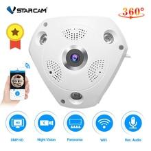 Vstarcam C61S 360カメラip 3MP魚眼パノラマ1080 1080p wifi cctv 3D vrビデオipカムマイクロsdカードオーディオリモートホーム監視