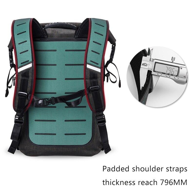 Спаситель M 02 Туризм/на велосипеде и рюкзак мешок с безопасностью светодиодный индикатор дистанционного управления открытый сумки, сигнал ... - 5