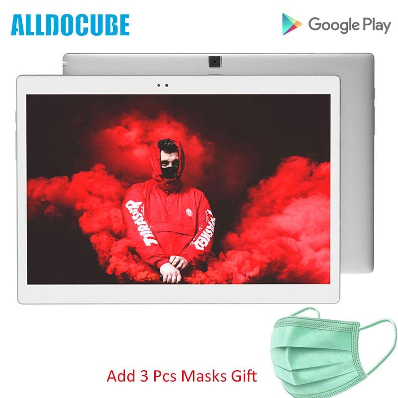 ALLDOCUBE X 10.5 Inch 2K 2560X1600 Super AMOLED Screen 6.9mm Ultra Slim Body Tablet PC Android 8.1 4GB RAM 64GB ROM Fingerprint