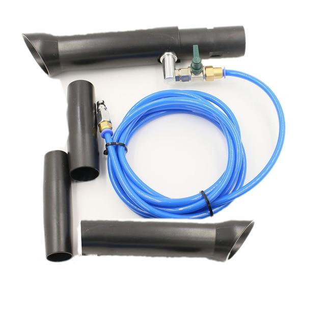 TB 014high pressure portable Aluminium japanese alloy stainless tube Tornador Vacuum Adapter original/tornado vacuum gun washing