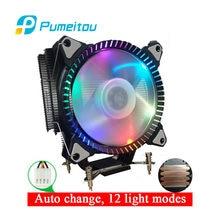Pumeitou – Support de refroidisseur de caloducs, Intel RGB 3 broches 4 broches, nouveau Support AM2 AM3 AM4 FM2 775 1150 1151 1155 1156 2011