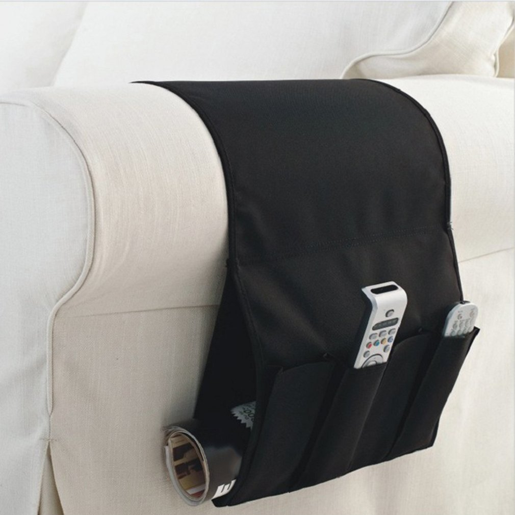 Sofa Couch Chair Armrest Caddy Pocket Organizer Storage Bag Multipockets For Books Phones Remote Controller Hot Aliexpress