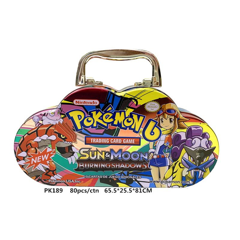 Pokemon GX EX MEGA Cover Card 3D Version SUN&MOON ULTRA PRISM Battle Card Collectible Christmas Gift Children Toy