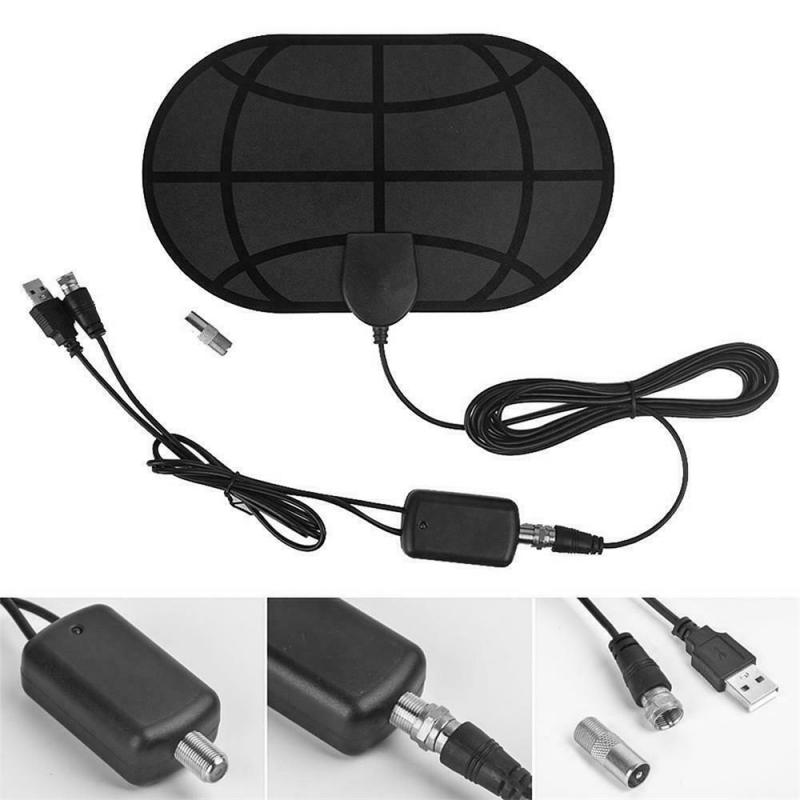 980 Mile Range Antenna 4K Digital HDTV Indoor TV Antennas  Signal Booster Active Indoor HD TV Radius Surf