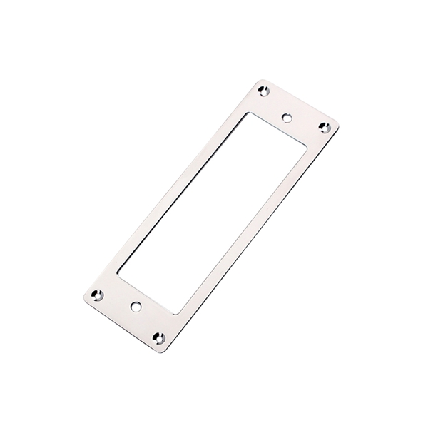 1Pcs Silver Metal Electric Guitar Humbucker Pickup Mounting Ring Frames