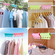 5Hole hanger clothespin windproof non-slip hanger padlock buckle