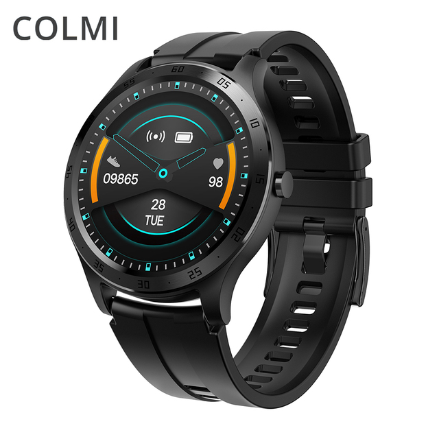 COLMI Smart Watch Men Fitness Tracker IP67 Waterproof Blood Pressure Smart Clock APP 28 languages Women Smartwatch for iphone