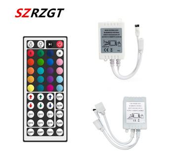 Kontroler Led 44 klawisze LED kontroler IR RGB box 1 do 2 kontroler IR zdalna regulacja ściemniania DC12V dla RGB 3528 5050 LED diody na wstążce tanie i dobre opinie SZRZGT CN (pochodzenie) RGB controller ROHS 12 v