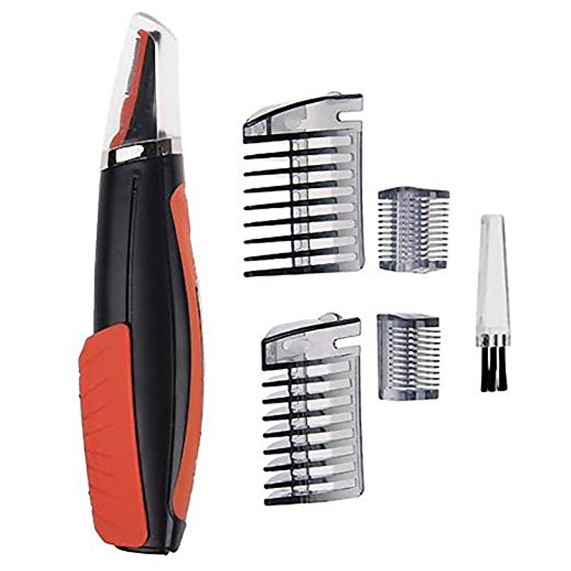 Hair Trimmer Shaver Electric Shaver Grooming Remover Hair Trimmer 2 In 1 Male Switchblade Mustache Beard Eyebrow