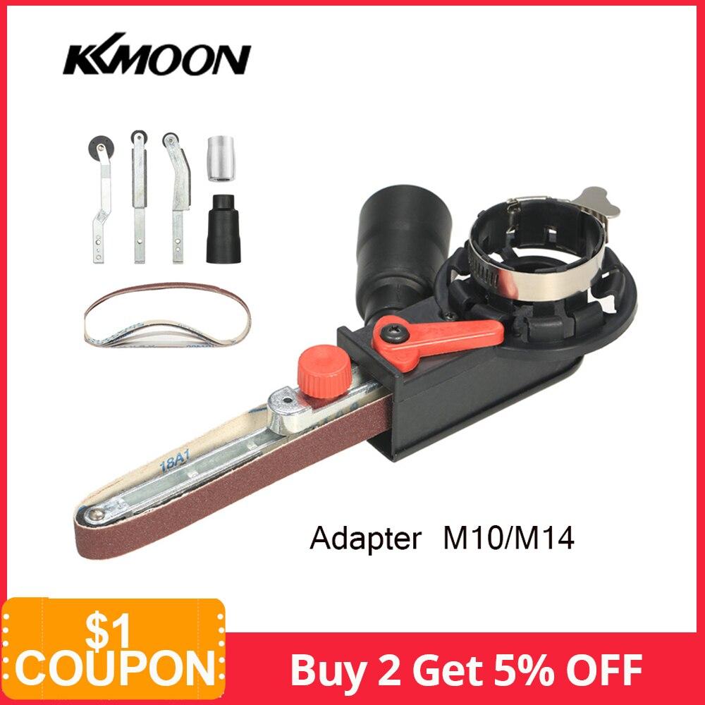 "Angle Grinder Mini DIY Sander Sanding Belt Adapter Grinding Machine Bandfile Belt Head Sander for 115mm 4.5"" and 125mm 5""-in Grinders from Tools on"