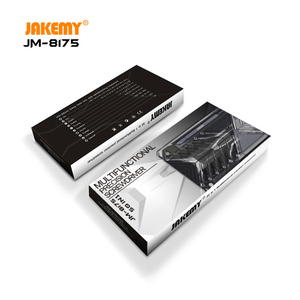 Image 2 - JAKEMY ใหม่ล่าสุดรุ่น JM 8175 แบบพกพา Precision ไขควงชุด Antirust S2 เหล็ก Bits ชุดเครื่องมือ DIY สำหรับโทรศัพท์มือถือ PC