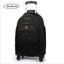 BeaSumore многофункциональная сумка для путешествий 20 дюймов Большой Вместительный рюкзак мужская деловая сумка для ноутбука чемоданы колеса