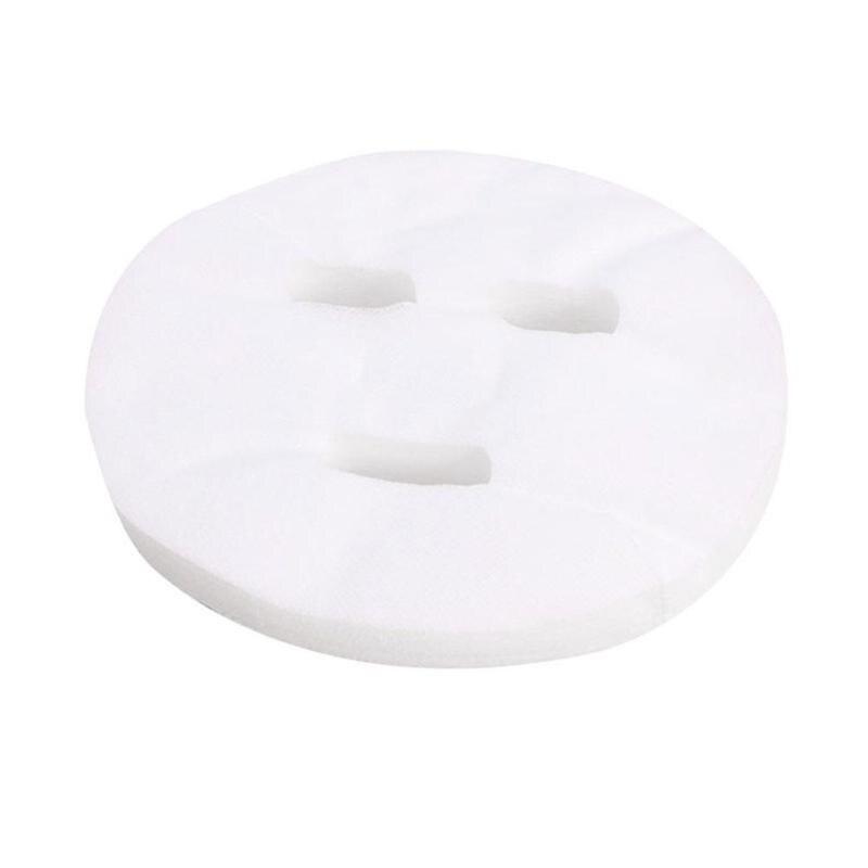 100pcs Disposable Non Compress Face Masks Cotton Silk Facial Sheet Paper