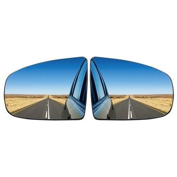 MagicKit PAIR FOR BMW X5 X6 E70 E71 E72 08-14  HEATED WING MIRROR GLASS for bmw cic e70 e71 e7x x5 x6 parking reverse image emulator rear camera activator
