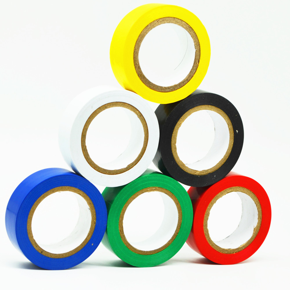 1Roll Electrical Tapes, 33 Ft Pro Grade PVC Waterproof, Flame Residant, Strong Adhesive Insulated Tape
