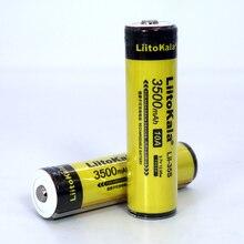 6 قطعة LiitoKala Lii 35S 18650 بطارية 3.7V ليثيوم أيون 3500mAh بطارية ليثيوم مناسبة لمضيا PCB حماية