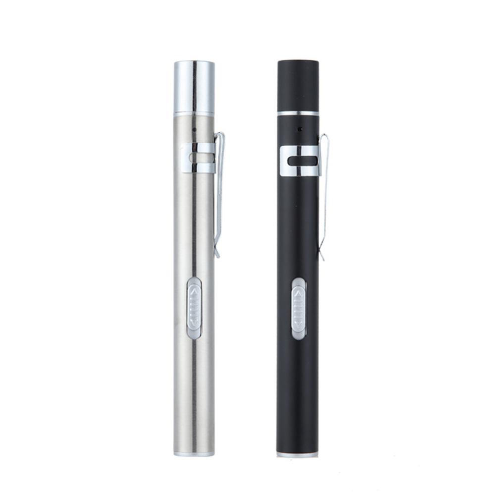 USB-Lade-LED-Taschenlampe Medical Hand Pen Lampe Mini Clip Pocket Stilllampe