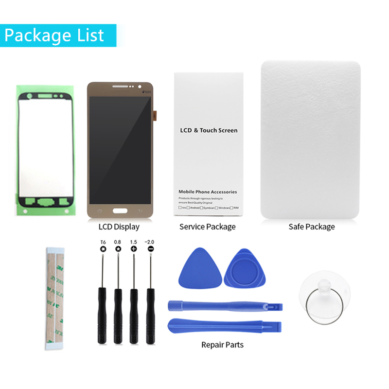 H398fe29f79264141abf67f272e1a15175 For Samsung Galaxy J2 Prime LCD Display G532F Touch Screen Digitizer Assembly G532 G532M lcd replacement repair parts with gift