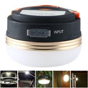 Уличный Магнитный Портативный USB Перезаряжаемый светодиодный фонарь для кемпинга новый шикарный светильник