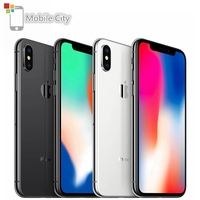 Original Unlocked Apple iPhone X Hexa Core 3GB RAM Smartphone 5.8 4G LTE 12MP Dual Rear Camera Face ID 64GB/256GB Cell Phone