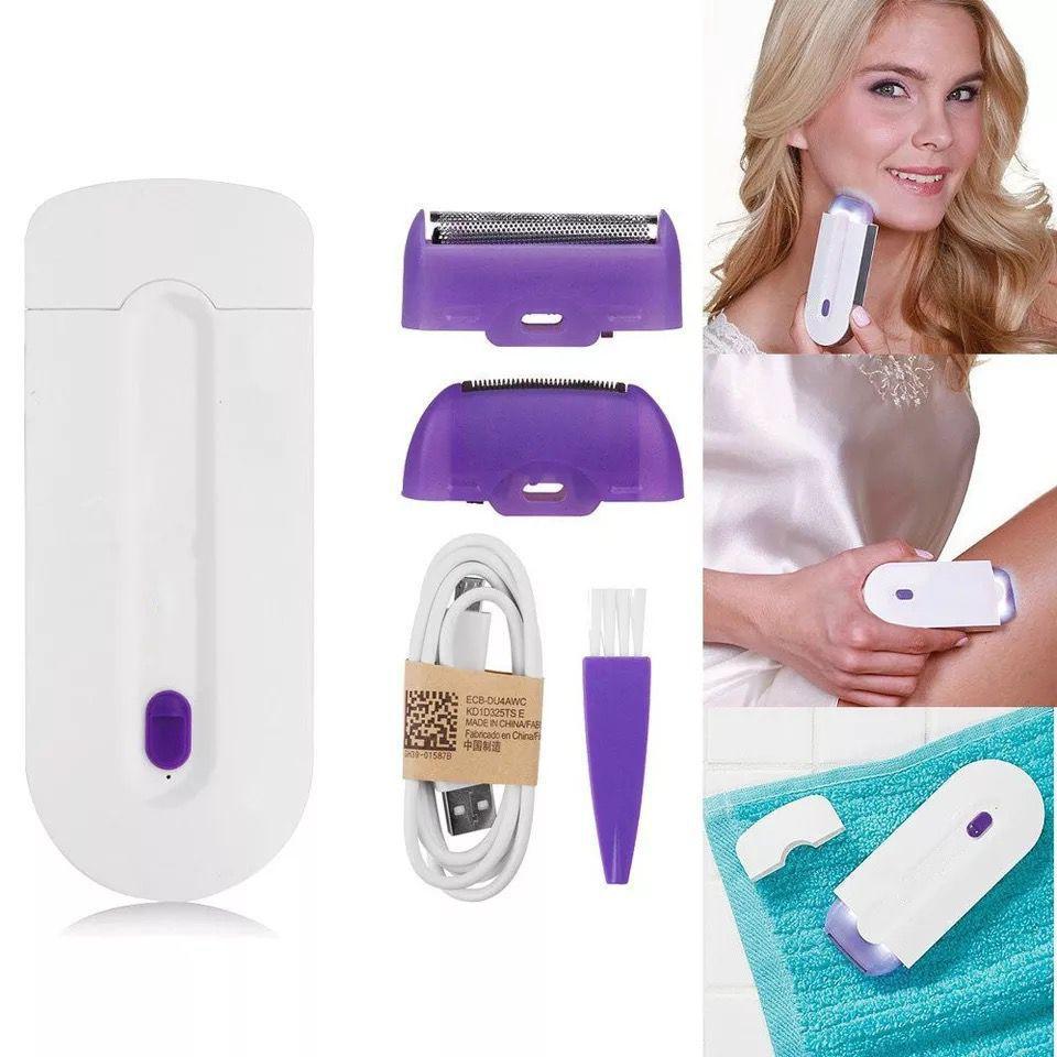 Laser Epilator Women Hair Removal Electric Depilator Pain Free Lady Epilation Sense-Light Technology Depilatory Device Dropship