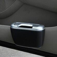 Mini Car Trash Auto Rubbish Dustbin Can Garbage Dust Case Box Storage Bin Accessories