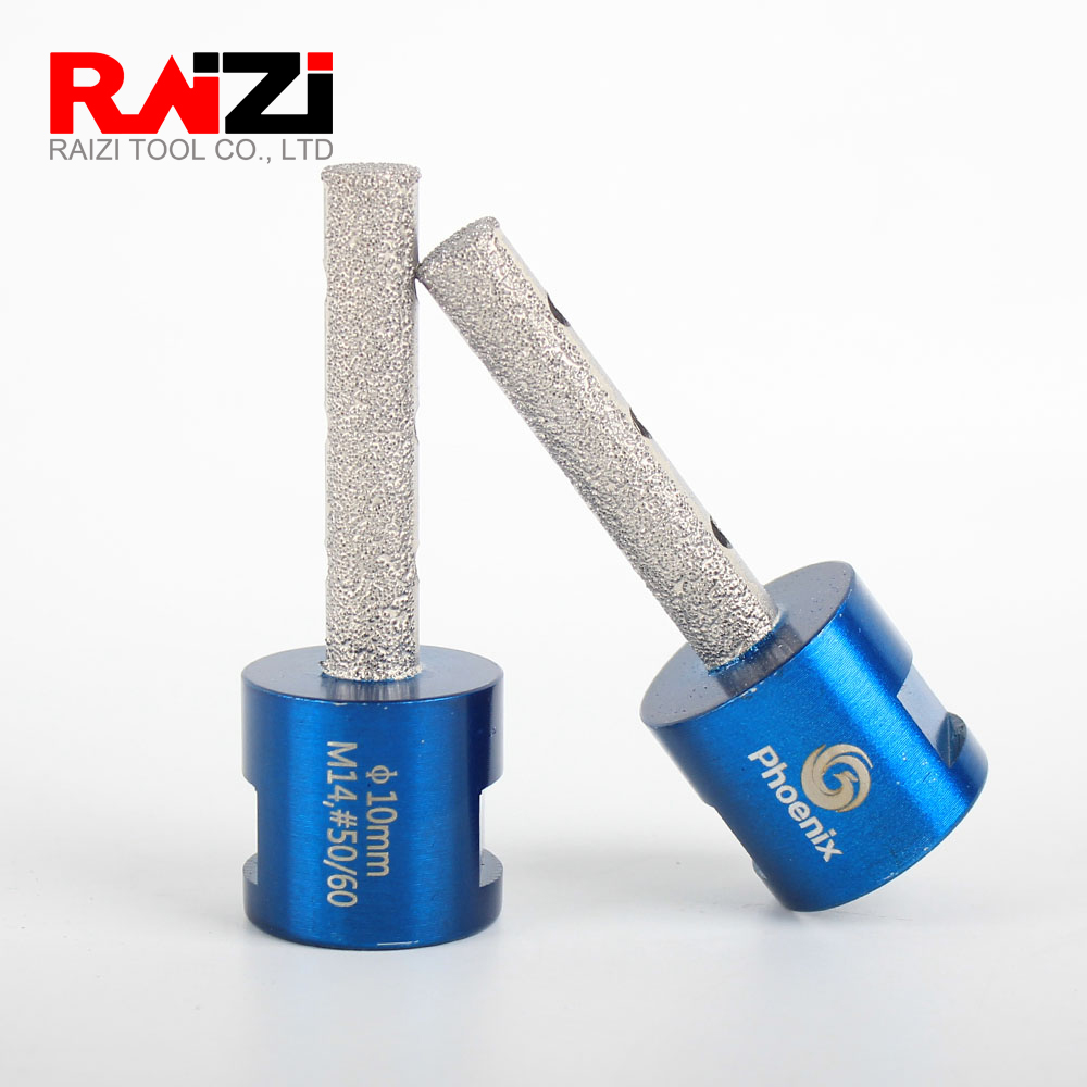 Raizi Phoenix 1pc Dia 10mm 15mm 20mm Diamond Finger Bit For Porcelain Ceramic Tile Granite Marble Hole Enlarge Shape Milling Bit