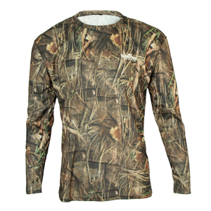 Men Camouflage Long Sleeve Fas