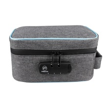 Smell Proof Tobacco Herbs Bag Case Smoking Stash Bag Combination Lock Container for Tobacco Herbs Medicine Box Bag Travel Case