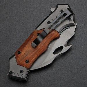 Image 3 - XUANFENG חיצוני סכין מתקפל סכין קמפינג קשיות גבוהה סכין טקטי נייד סכין wild הישרדות טופר סכין