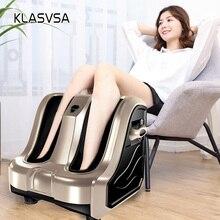 KLASVSAร้อนไฟฟ้าเครื่องทำความร้อนเท้าขานวดShiatsu Roller Therapyนวดกดจุดปวดโล่งอกการดูแลสุขภาพผ่อนคลาย