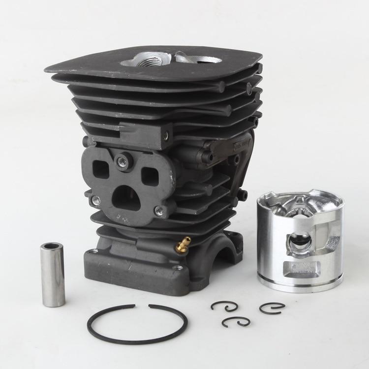 47mm Cylinder Piston & Ring Kit For Husqvarna 455 Rancher 455E 460 Chainsaw Aluminum Piston Size 47mm