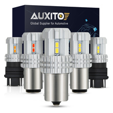 AUXITO 1400LM BA15S 1156 P21W LED Bulb Car Reverse Lights 7443 W21/5W 7440 WY21W 1157 BAY15D 3157 Turn Signal Brake