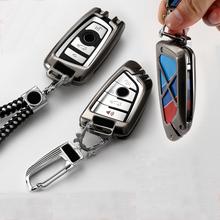 Ze stopu cynku obudowa kluczyka do samochodu pokrywa brelok dla BMW 520 525 f30 f10 F18 118i 320i dla bmw X3 X4 M3 M4 M5 E34 E90 E60 E36 powłoki tanie tanio Ocynkowanej Stopu